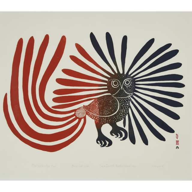 "Kenojuak Ashevak ""Enchanted Owl"""
