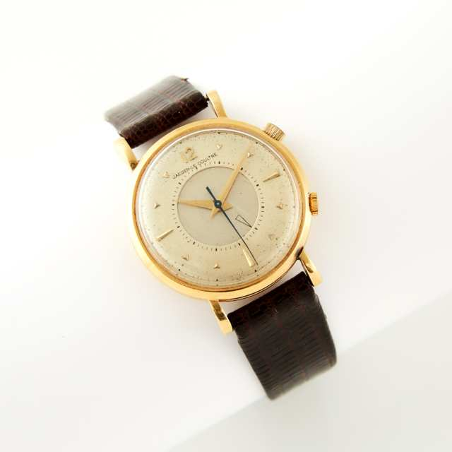 Jaeger-LeCoultre Wristwatch With Alarm