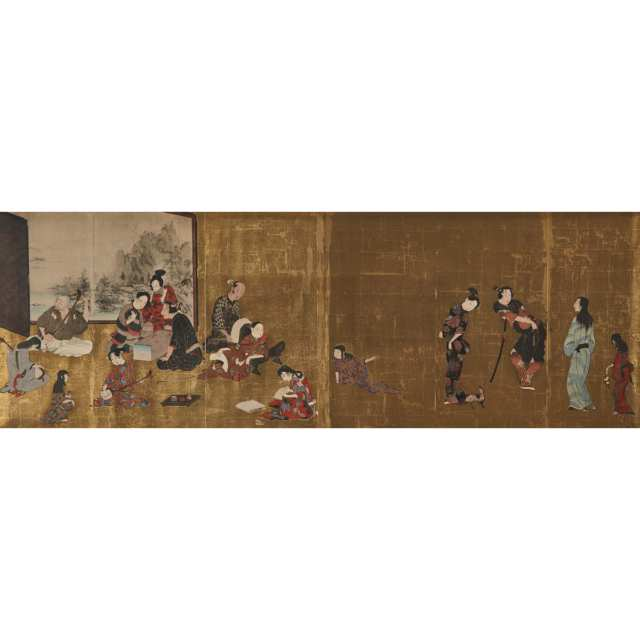 After the Hikone Byobu Screen (1624-1644)