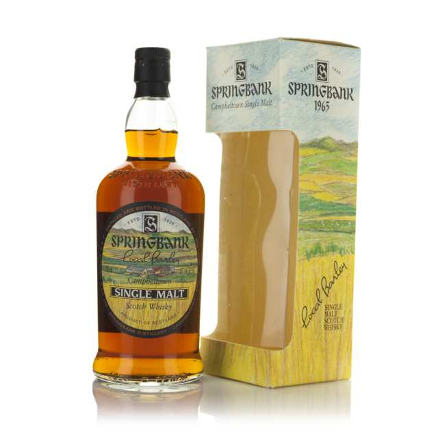 Springbank Single Malt Scotch Whisky NAS (One 750 ML, OC)