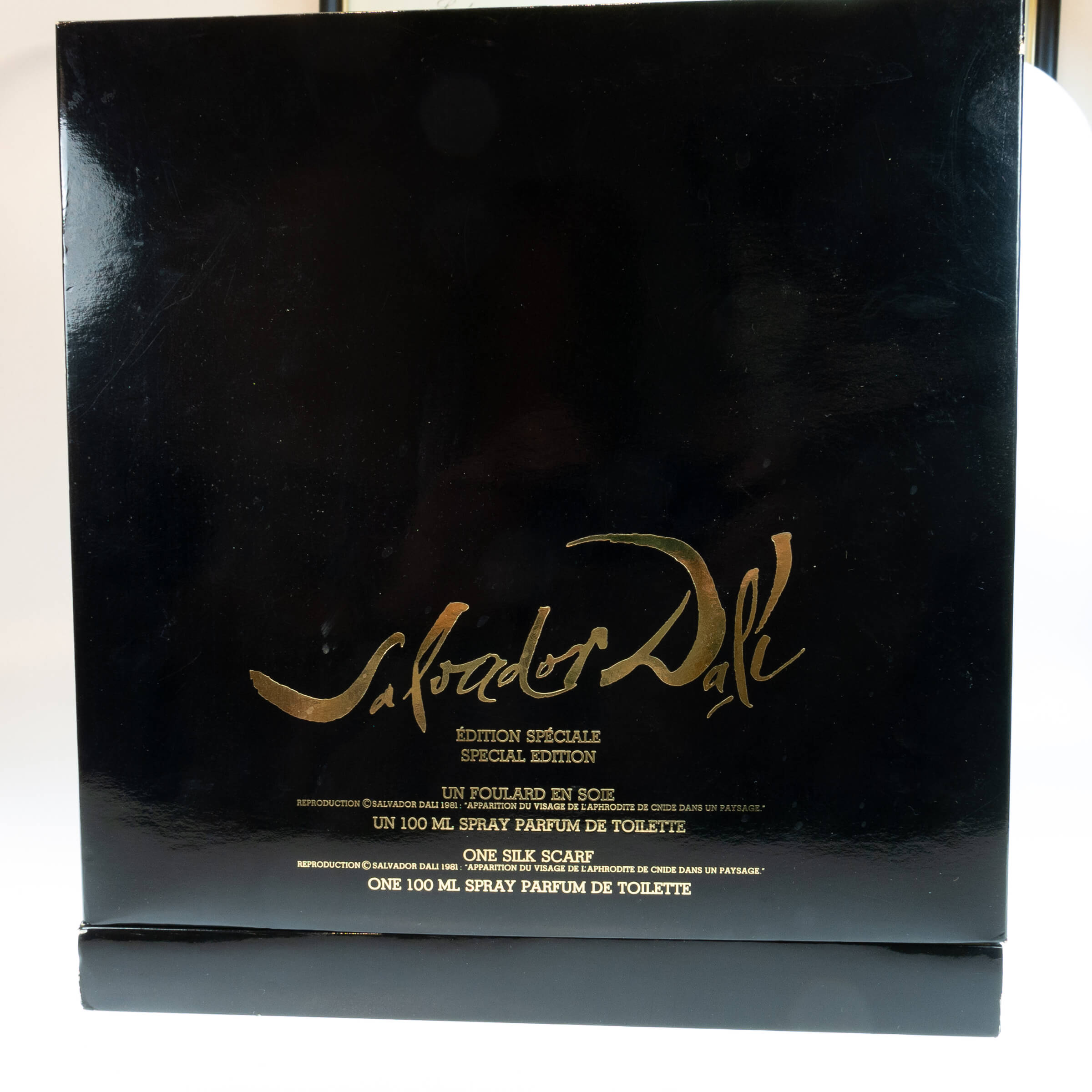 Salvador Dali Special Edition Perfume And Silk Scarf