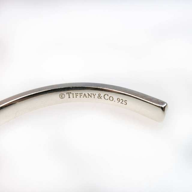 Tiffany & Co Sterling Silver Open Bangle
