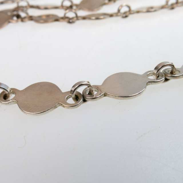 David Andersen Norwegian Sterling Silver Link Endless Chain