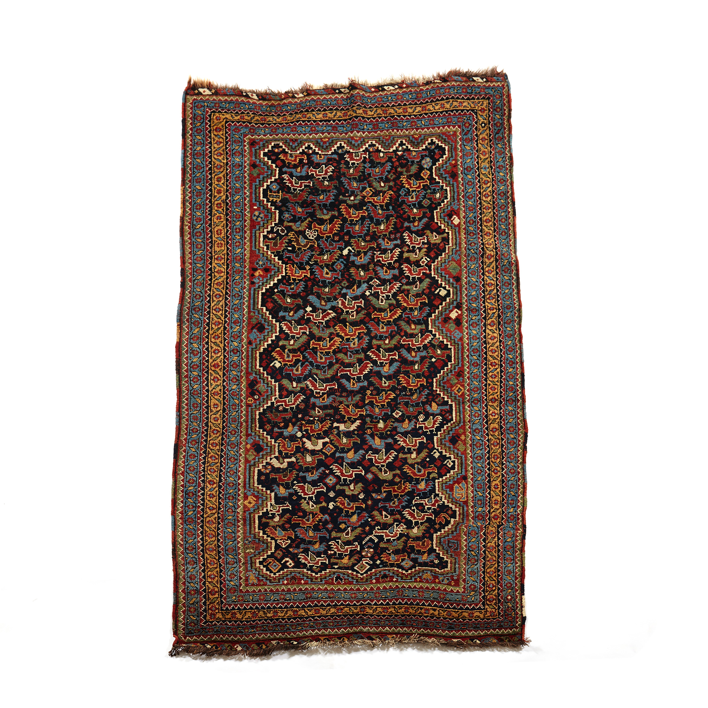 Afshar Rug, Persian, late 19th/ early 20th century