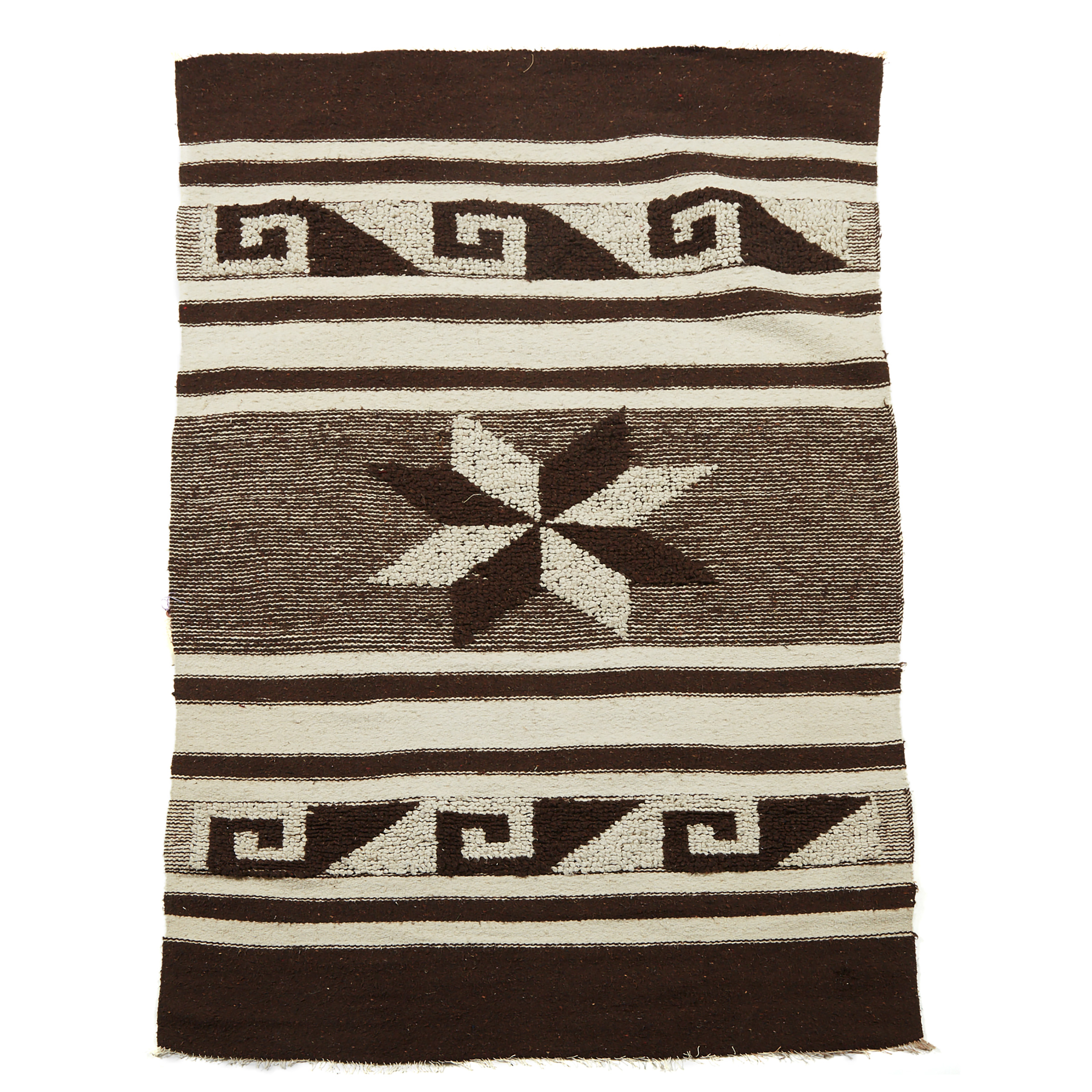 A Peruvian Blanket together with a Mexican Blanket