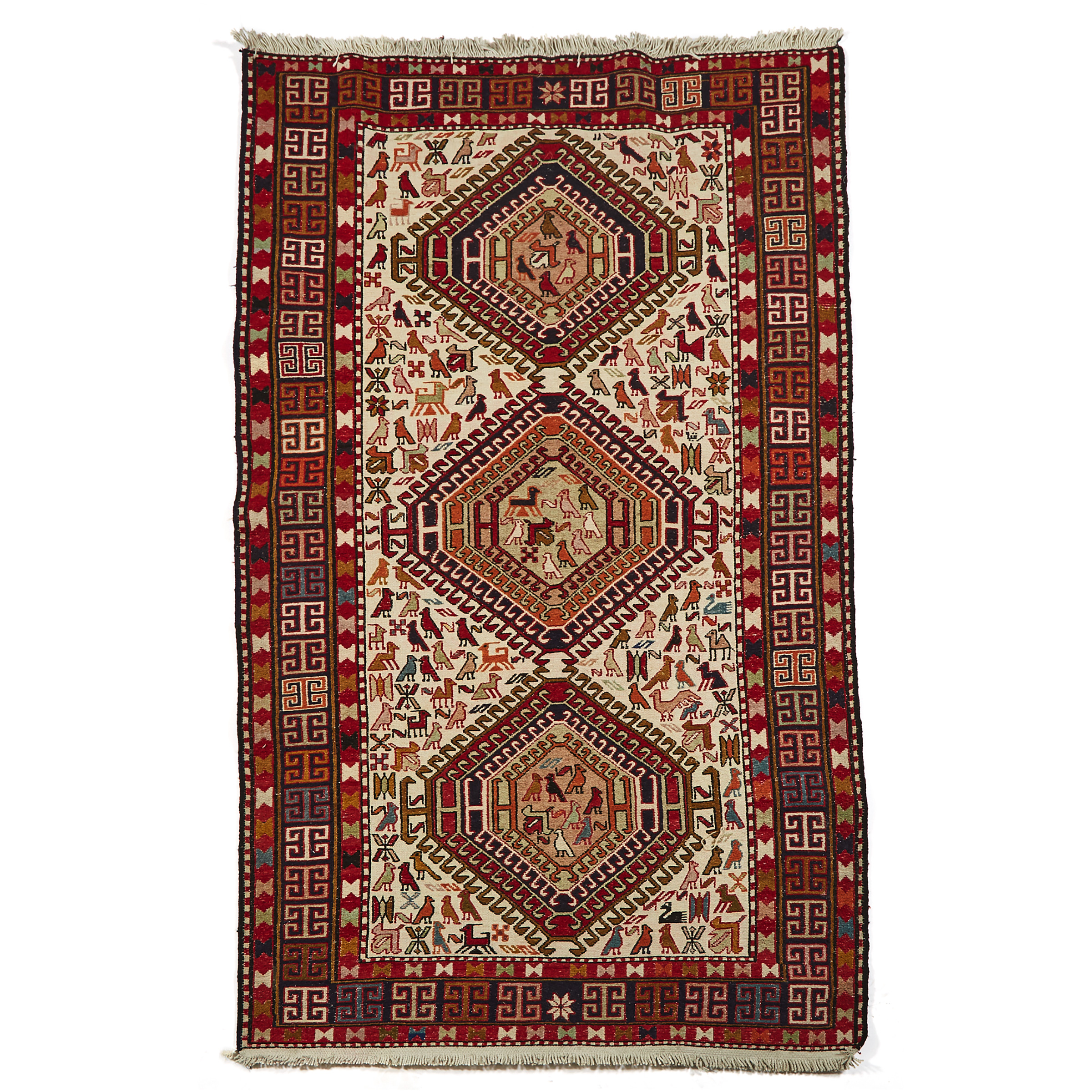 Soumak Rug, late 20th century