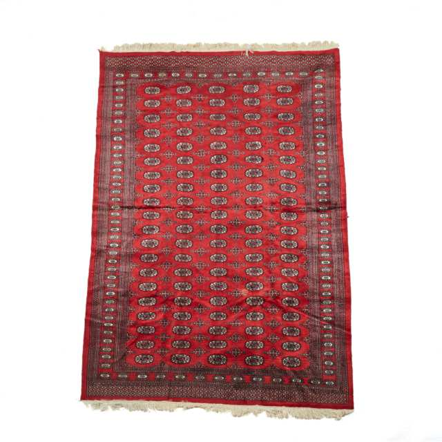 Bokhara Carpet, Pakistan, mid to late 20th century