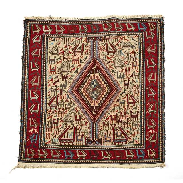 Soumak Rug, early to mid 20th century