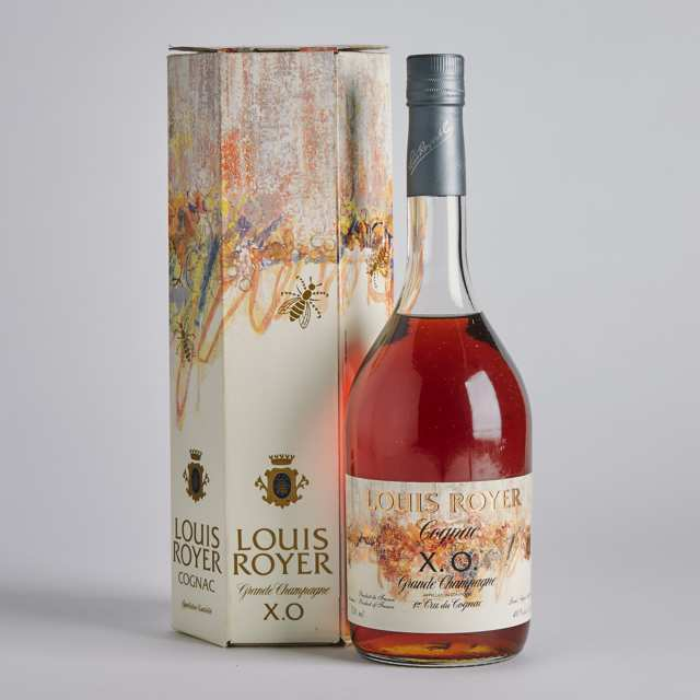 LOUIS ROYER XO GRANDE CHAMPAGNE COGNAC (ONE 750 ML)