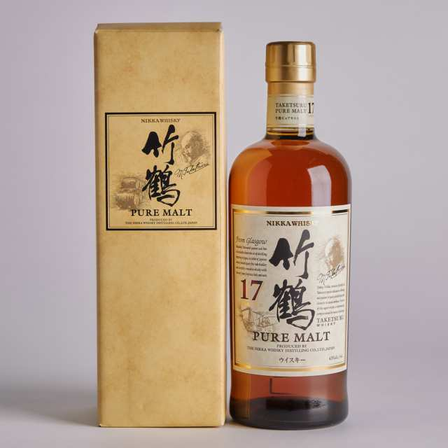 NIKKA TAKETSURU PURE MALT WHISKY 17 YEARS (ONE 700 ML)