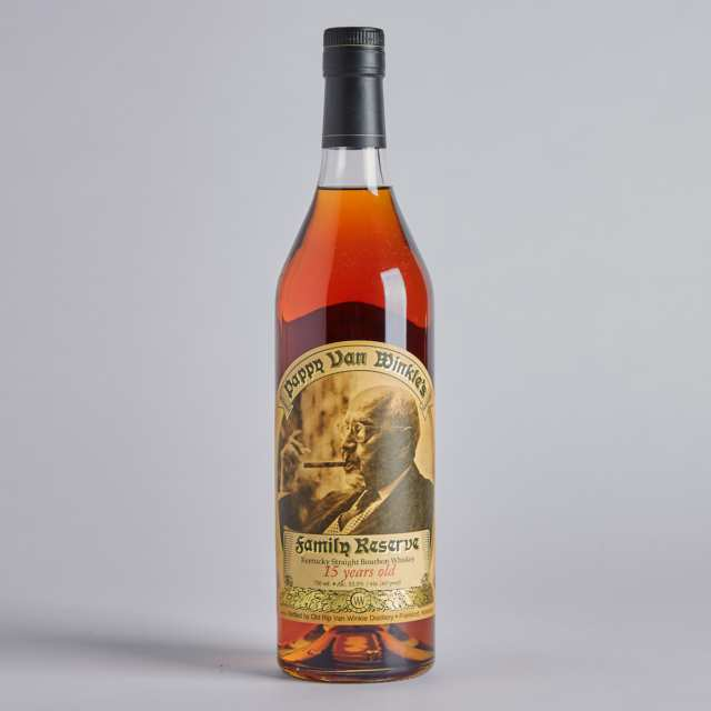 PAPPY VAN WINKLE'S FAMILY RESERVE KENTUCKY STRAIGHT BOURBON WHISKEY 15 YEARS (ONE)