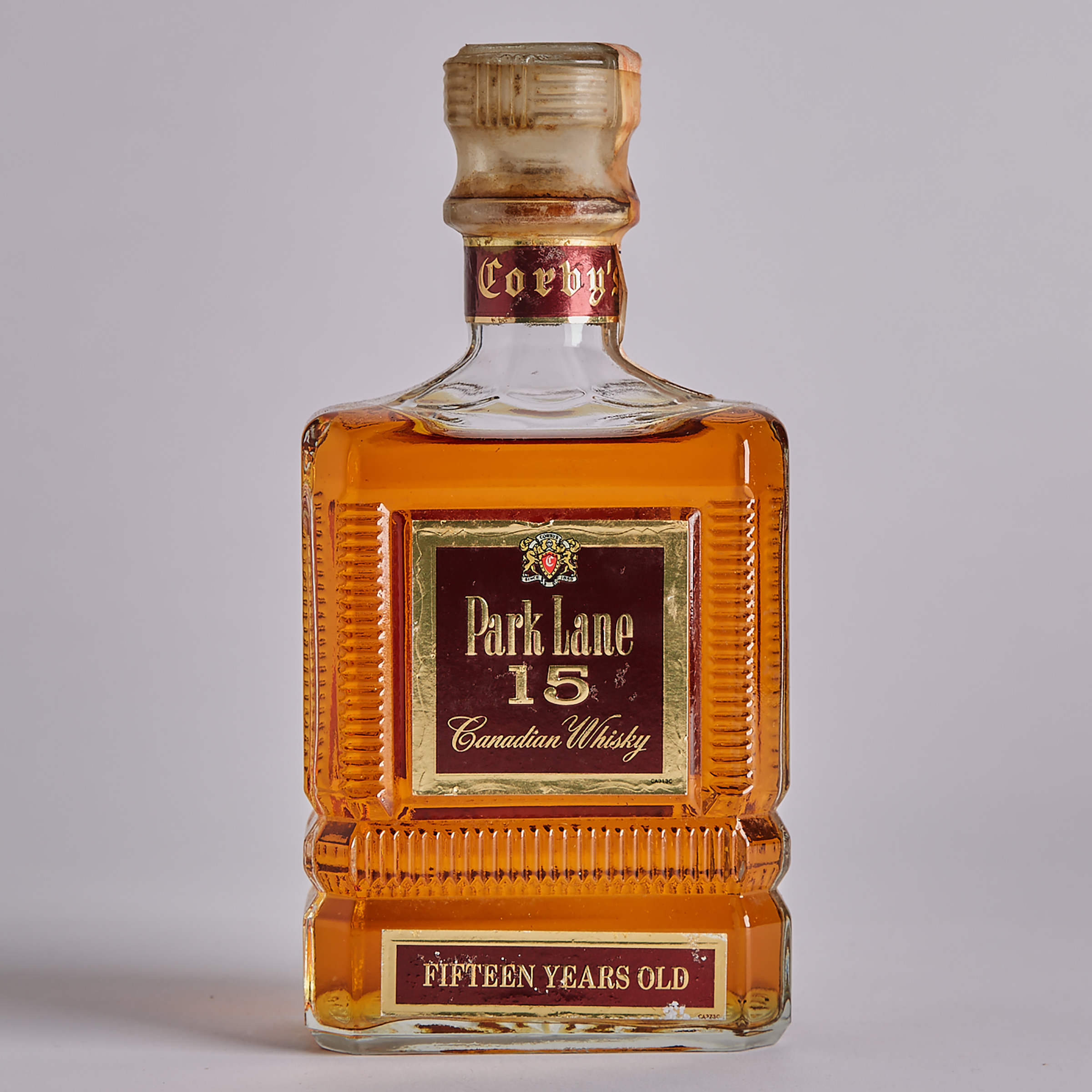 CORBY'S PARK LANE CANADIAN WHISKY 15 YEARS (ONE 710 ML)