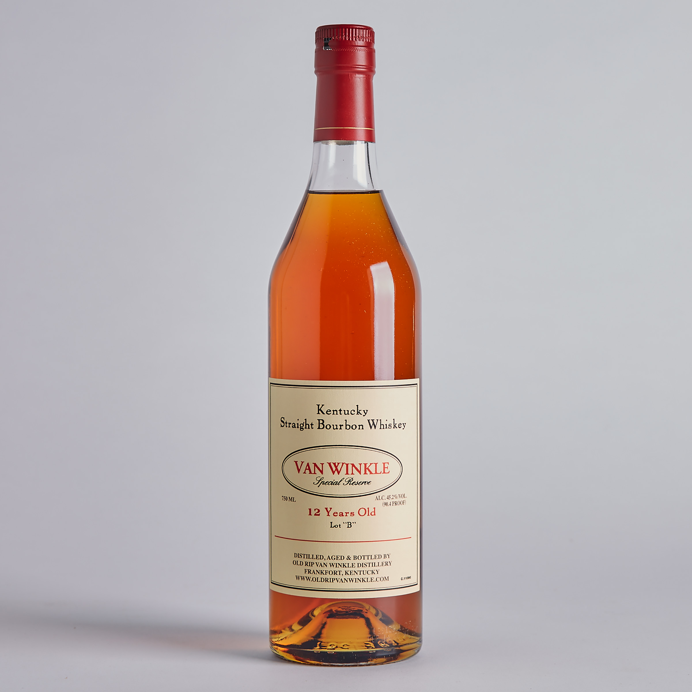 "VAN WINKLE SPECIAL RESERVE ""LOT 'B'"" KENTUCKY STRAIGHT BOURBON WHISKEY 12 YRS (ONE 750 ML)"