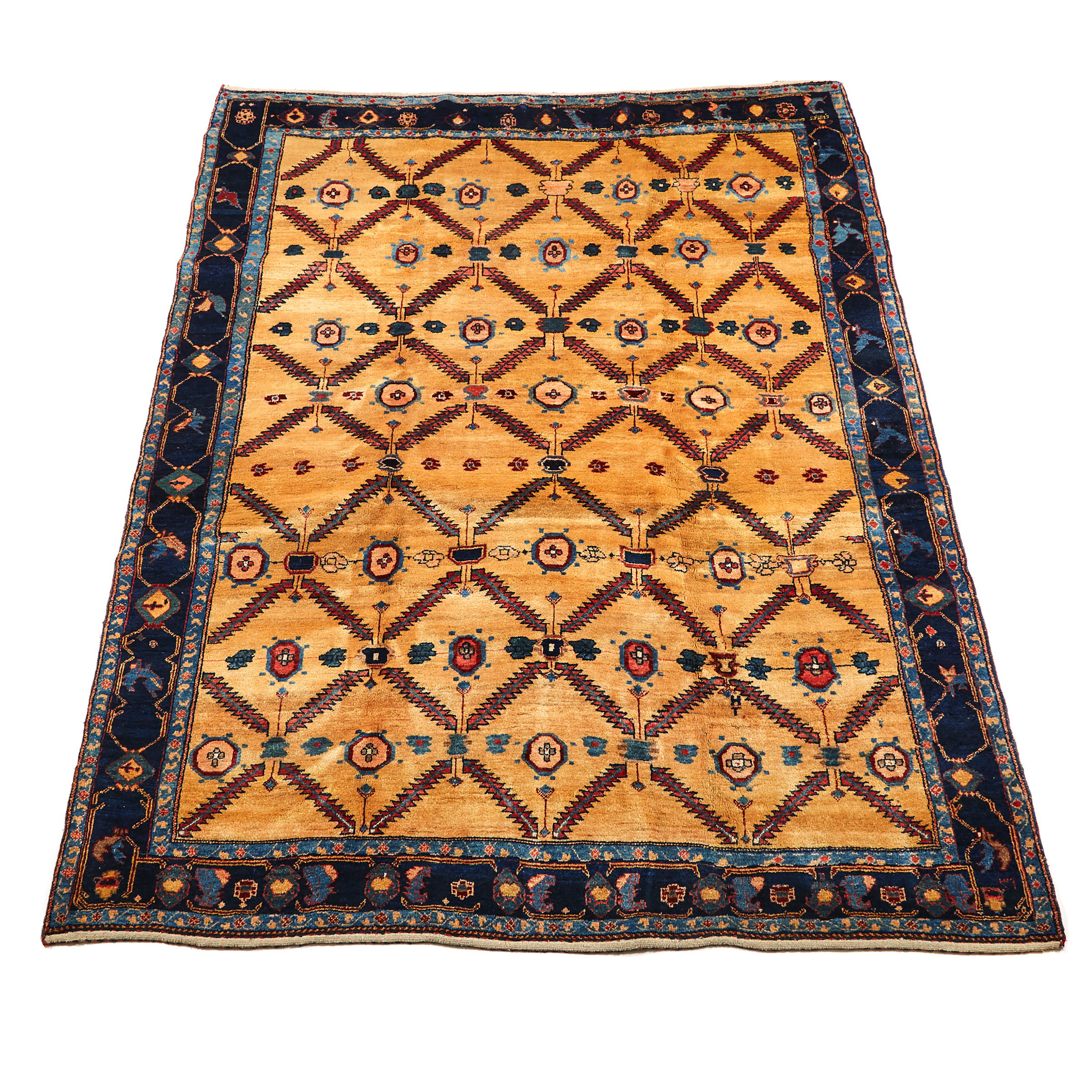 Gabbeh Carpet, Persian, mid 20th century