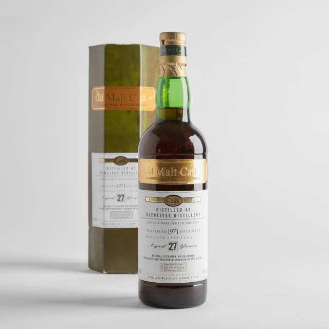 THE OLD MALT CASK SINGLE MALT SCOTCH WHISKY 27 YEARS (ONE 700 ML)
