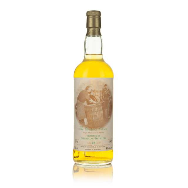 GLENDULLAN SINGLE MALT SCOTCH WHISKY 18 YEARS (ONE 750 ML)
