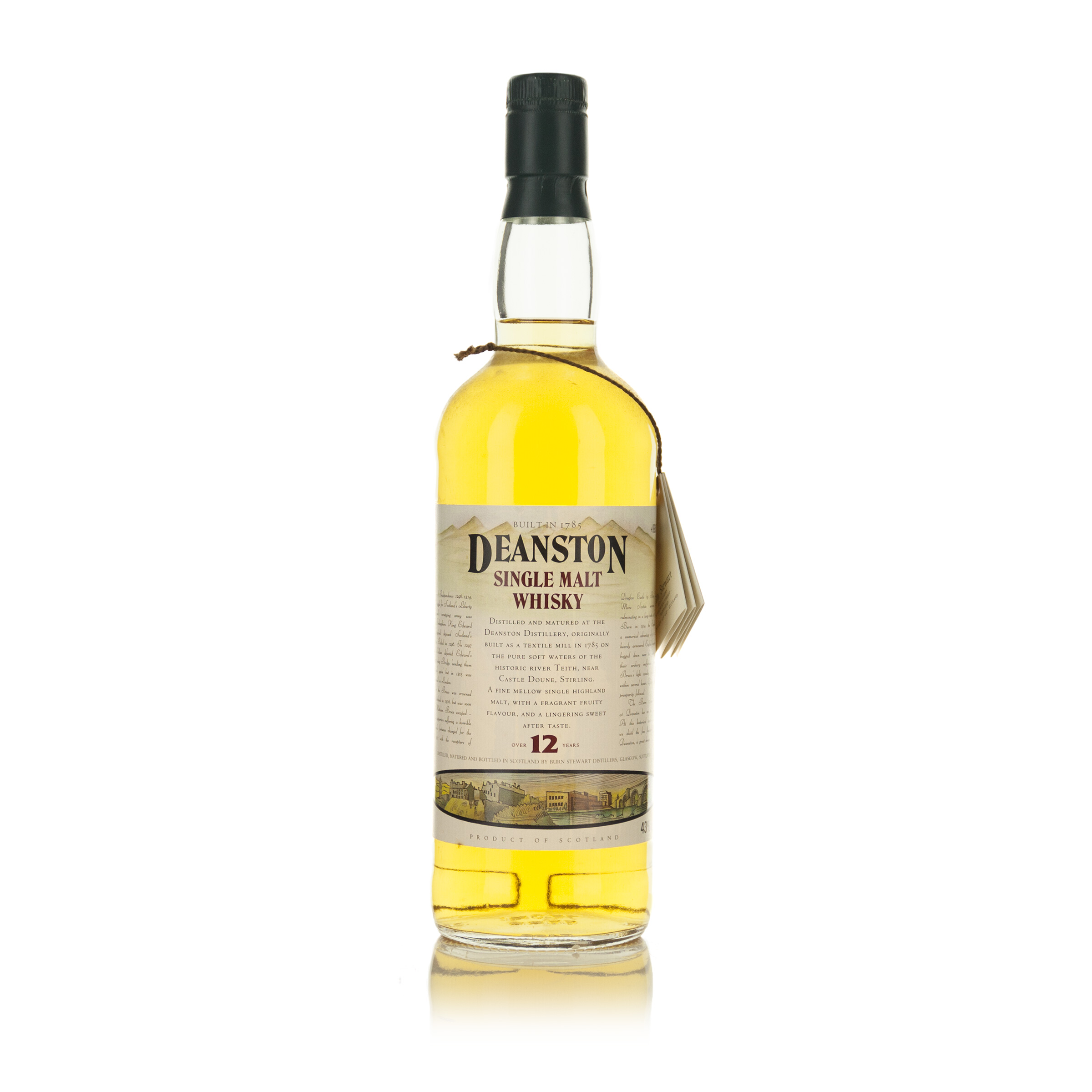 DEANSTON SINGLE MALT SCOTCH WHISKY 12 YEARS (ONE 750 ML)