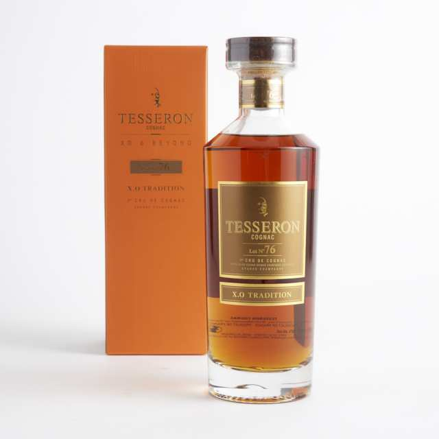 TESSERON COGNAC LOT NO 76 XO TRADITION (ONE 700 ML)