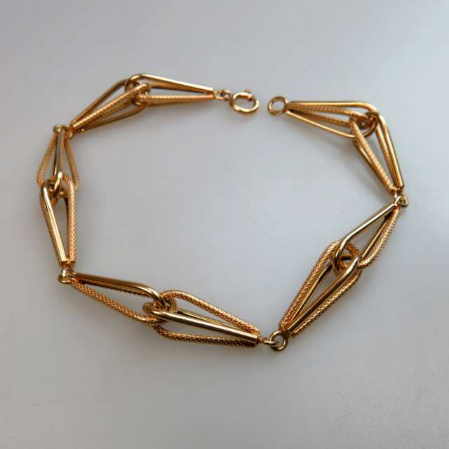 18K Yellow Gold Link Bracelet