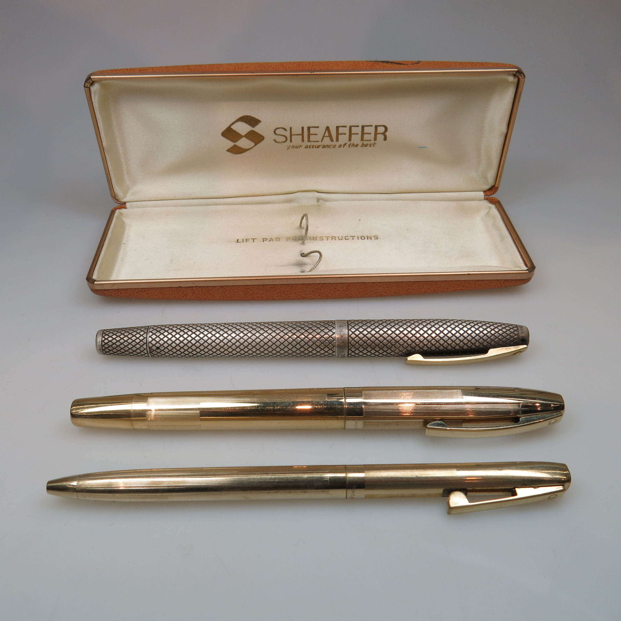 3 Various Sheaffer Pens