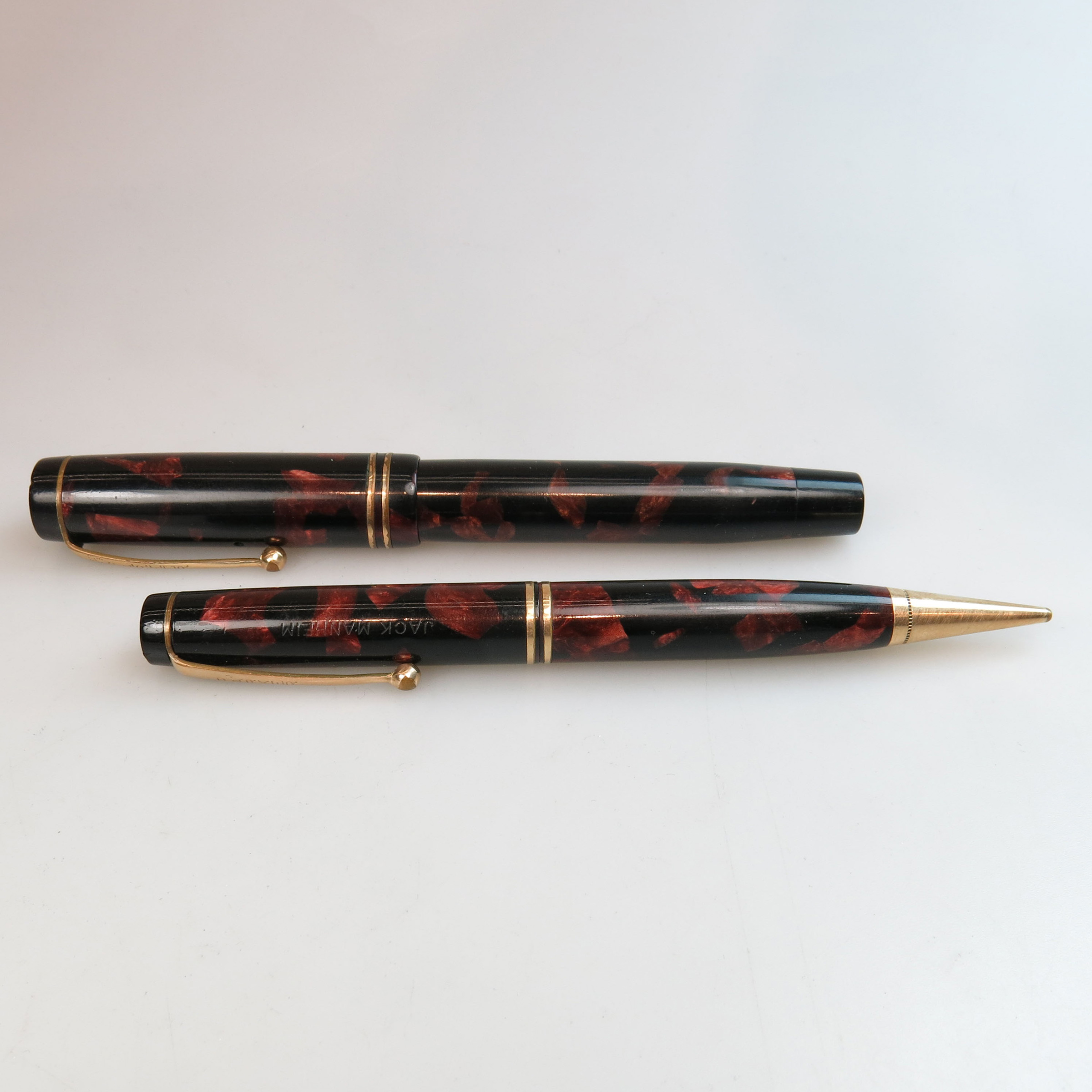 Parker Duo Fold Streamline Senior Fountain Pen And Pencil Set