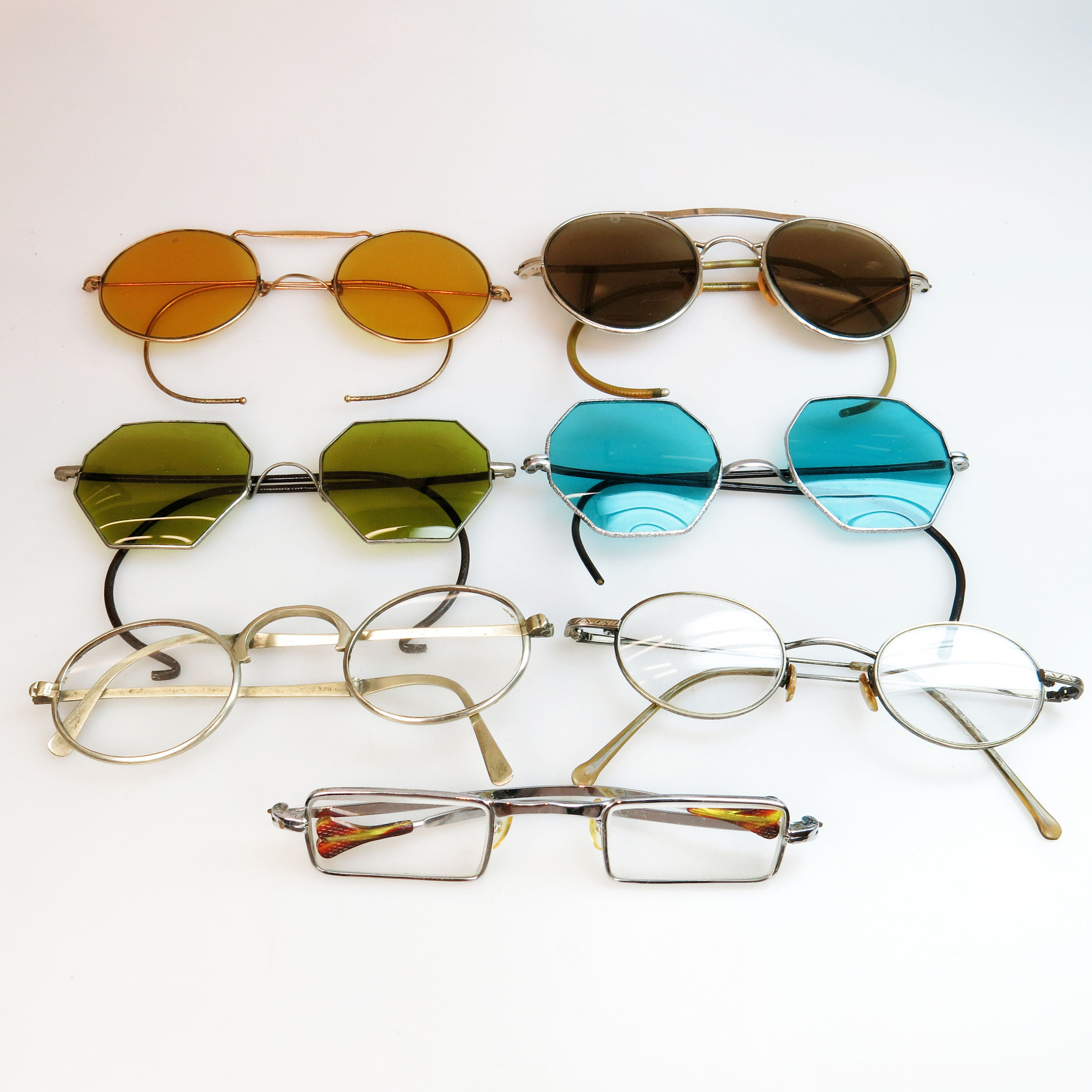 7 Various Pairs Of Spectacles