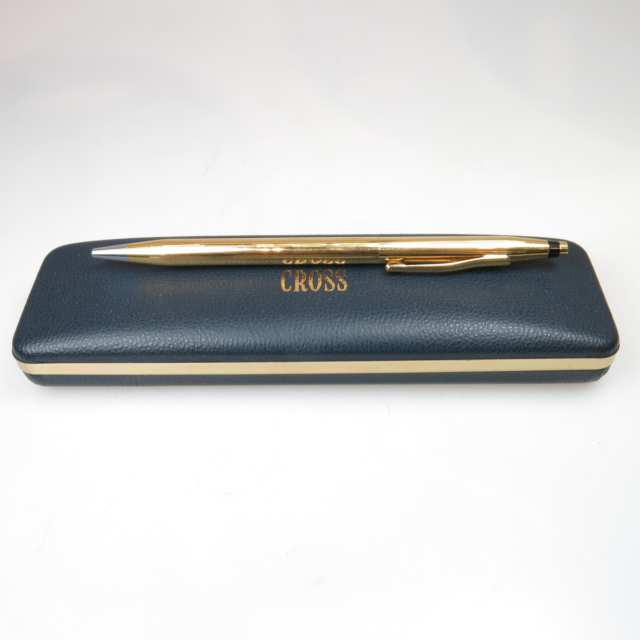 Cross 18k Yellow Gold Ballpoint Pen