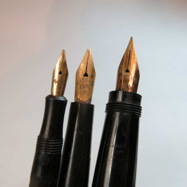 3 Various Fountain Pens