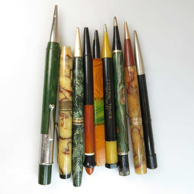 9 Various Mechanical Pencils