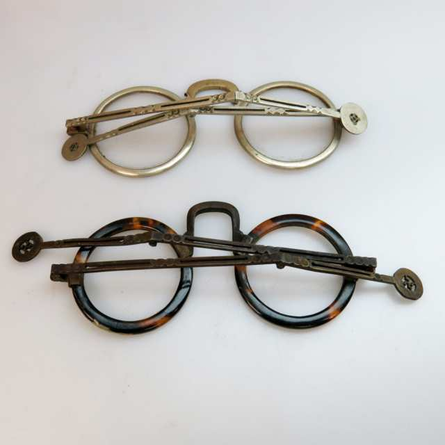 2 Pairs Of 19th Century Chinese Spectacles