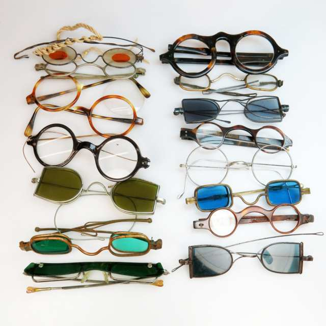 15 Various Pairs Of 19th & 20th Century Spectacles