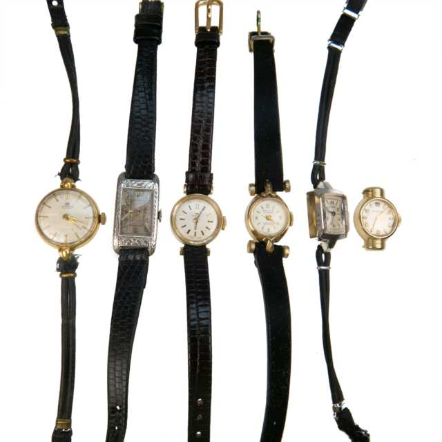 6 X Lady's Wristwatches