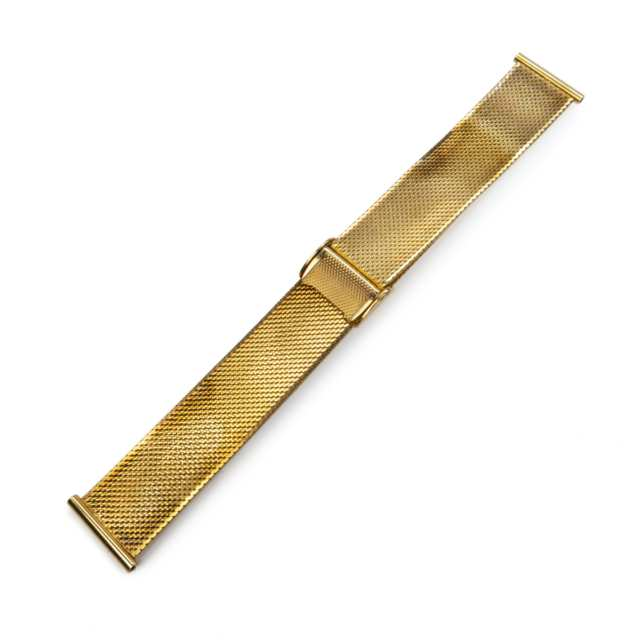 14K Yellow Gold Watch Band