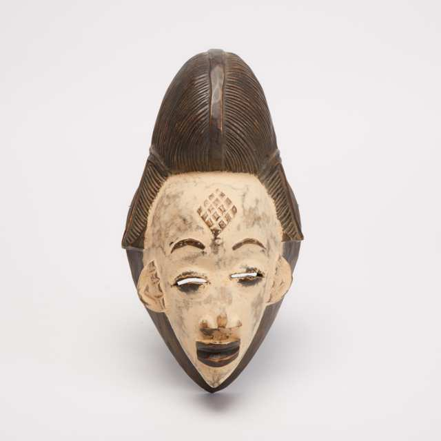 Punu Mask, Gabon, Central Africa