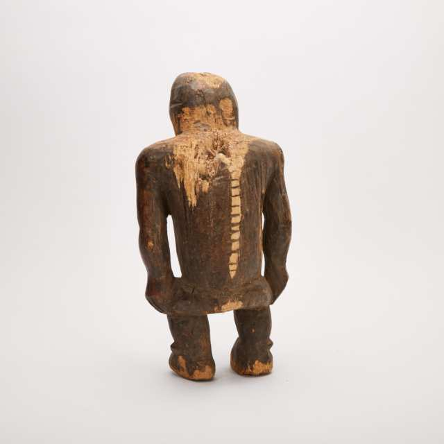 Monkey Figure, possibly Lega, Democratic Republic of Congo, Central Africa