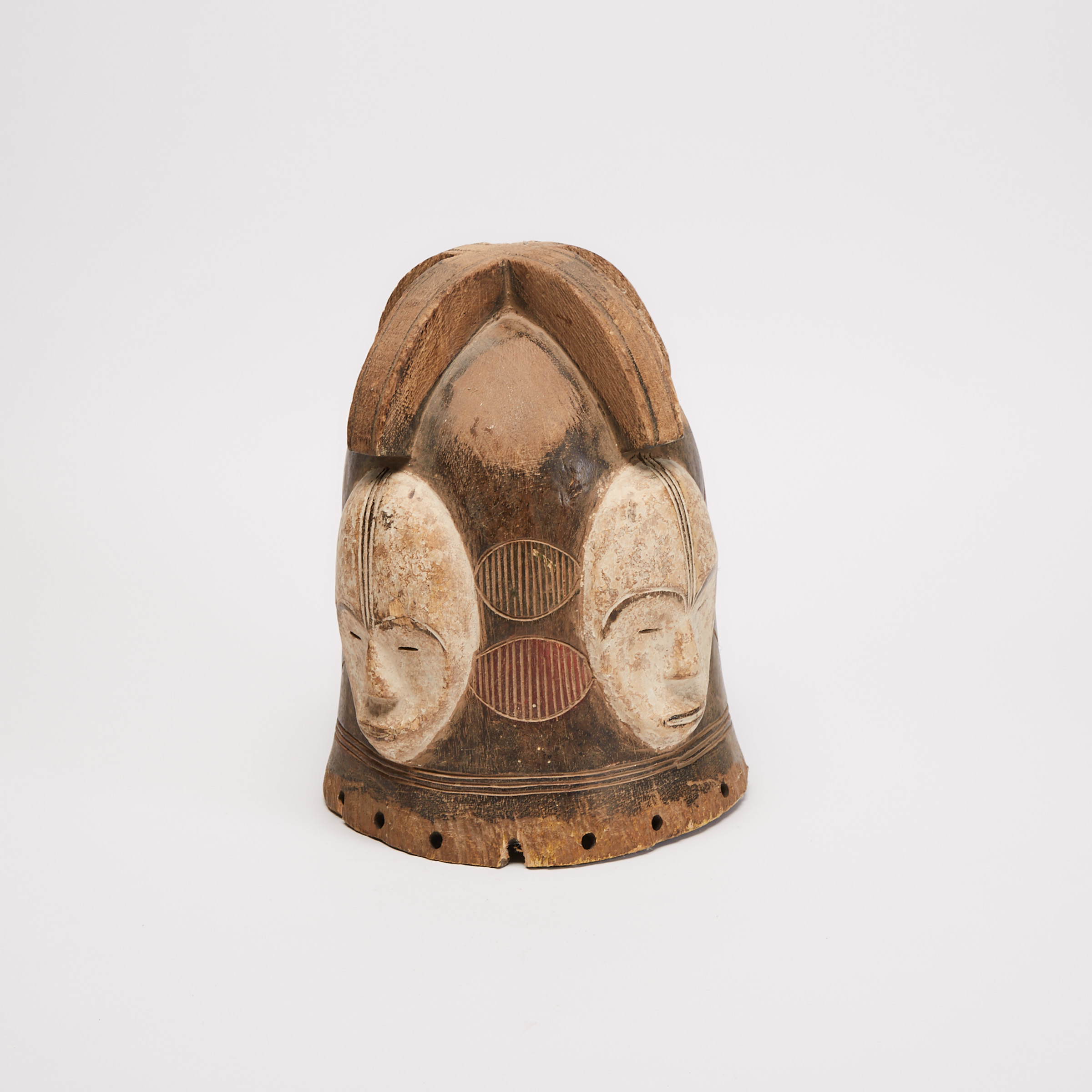 Fang Ngontang Helmet Mask, Central Africa