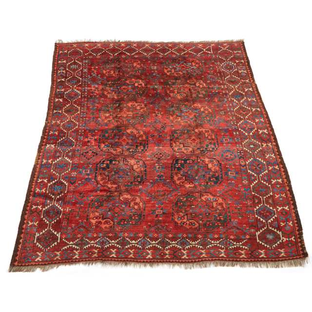 Ersari Main Carpet, Central Asia, early to mid 20th century