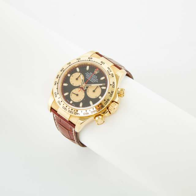 Rolex Oyster Perpetual Cosmograph Daytona Wristwatch, With Date And Chronograph