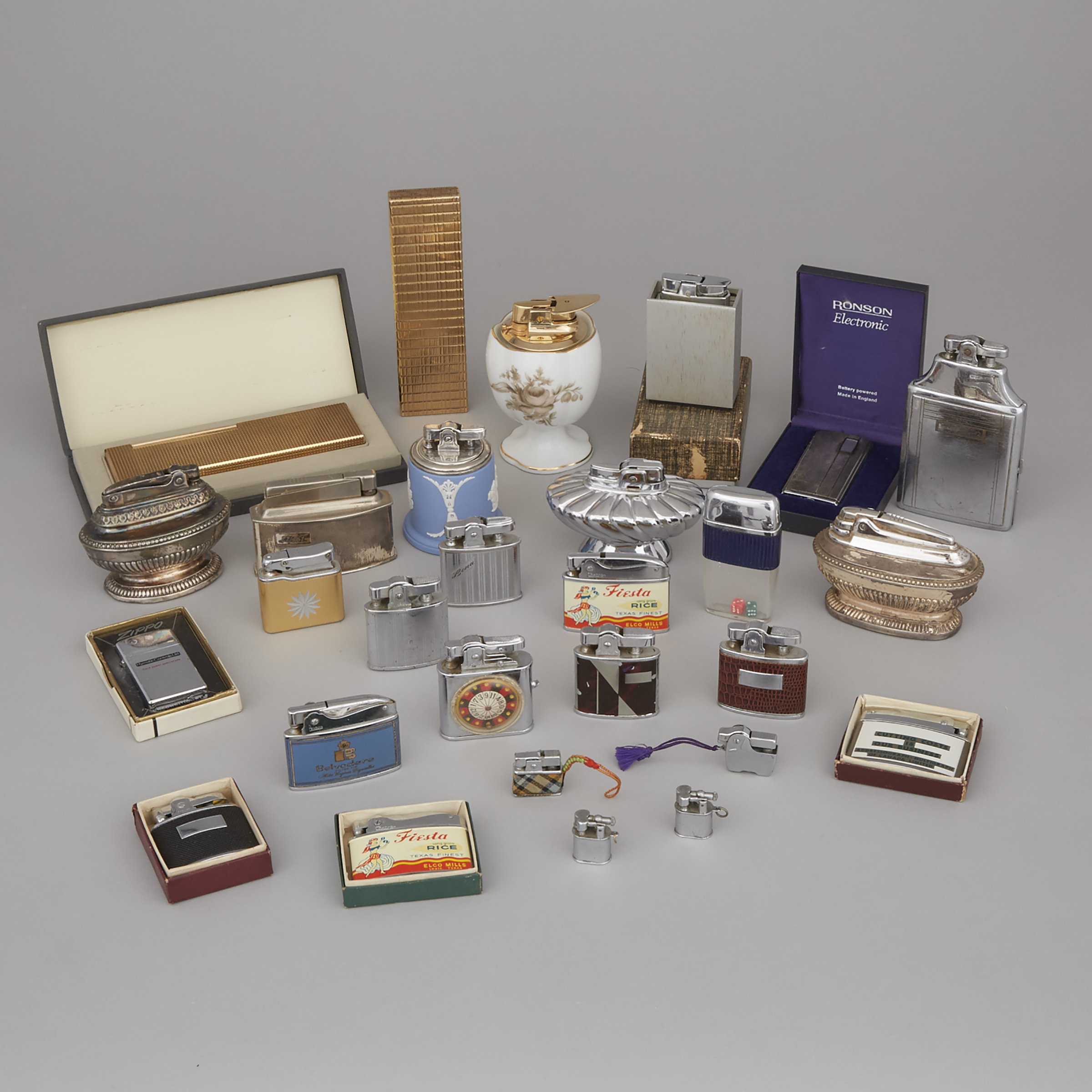 Collection of 27 Various Novelty and Table Lighters, 20th century