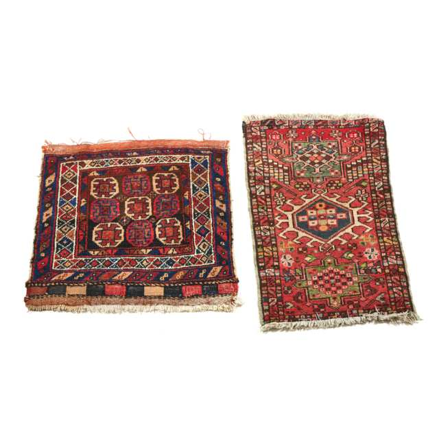 Karadge Mat, Persian togeher with a Turkish Mat, both mid 20th century