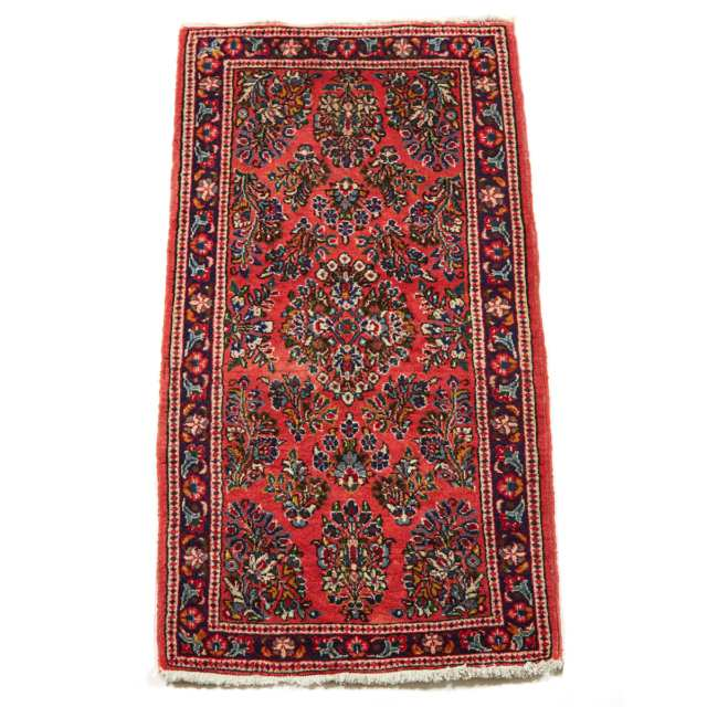 Sarouk Rug, Persian, mid 20th century