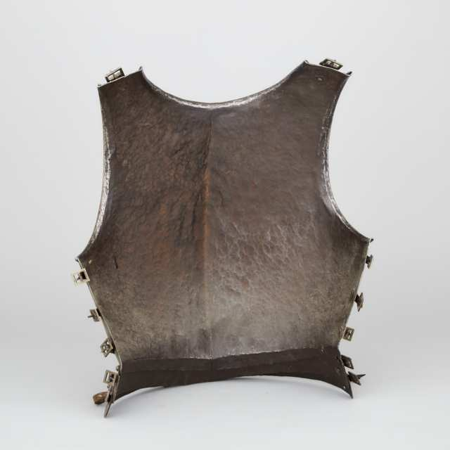North Italian Infantry Breastplate, early 17th century