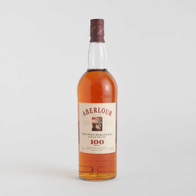 ABERLOUR PURE SINGLE HIGHLAND MALT SCOTCH WHISKY NAS (ONE 1 LITER)
