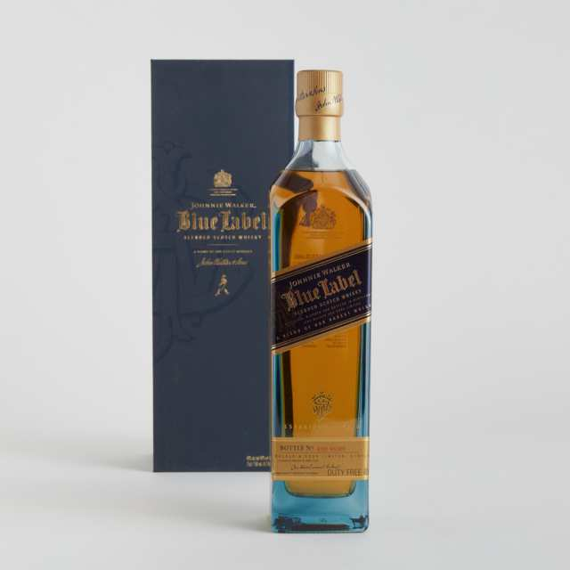 JOHNNIE WALKER BLUE LABEL BLENDED SCOTCH WHISKY NAS (ONE 75 CL)