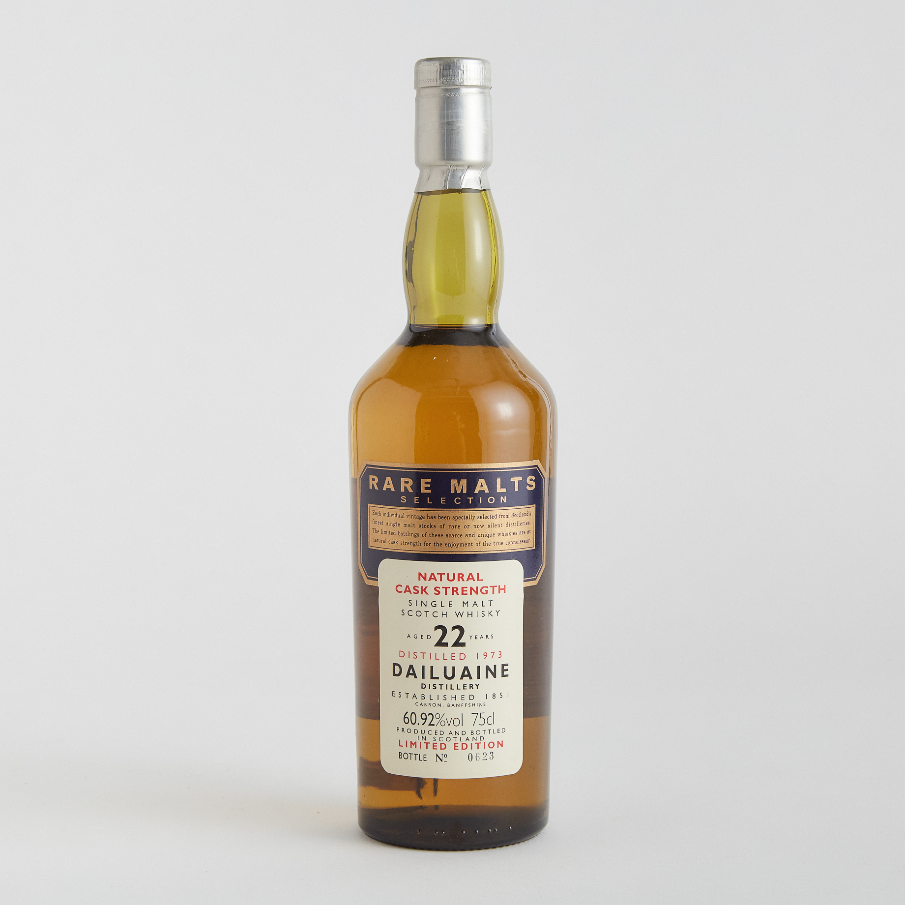 DAILUAINE SINGLE MALT SCOTCH WHISKY 22 YEARS (ONE 75 CL)