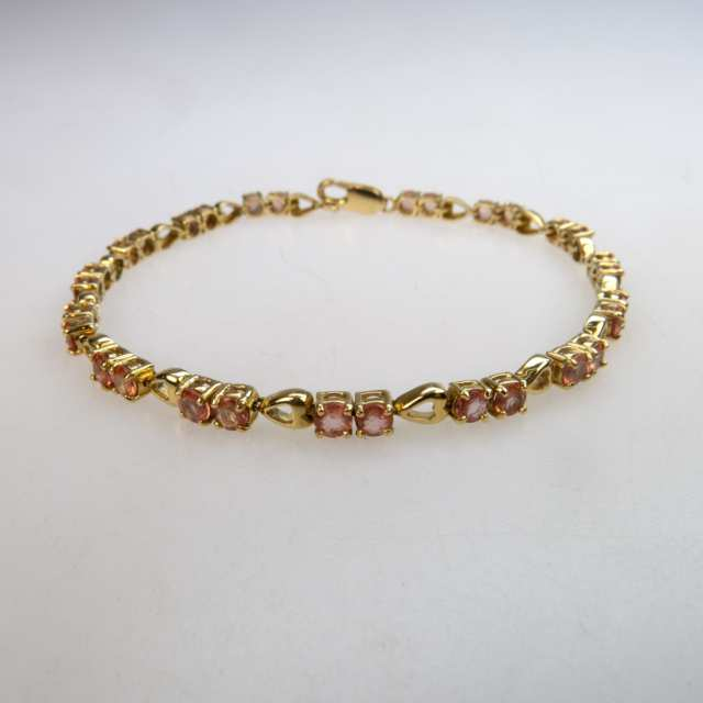 English 18k Yellow Gold Bracelet