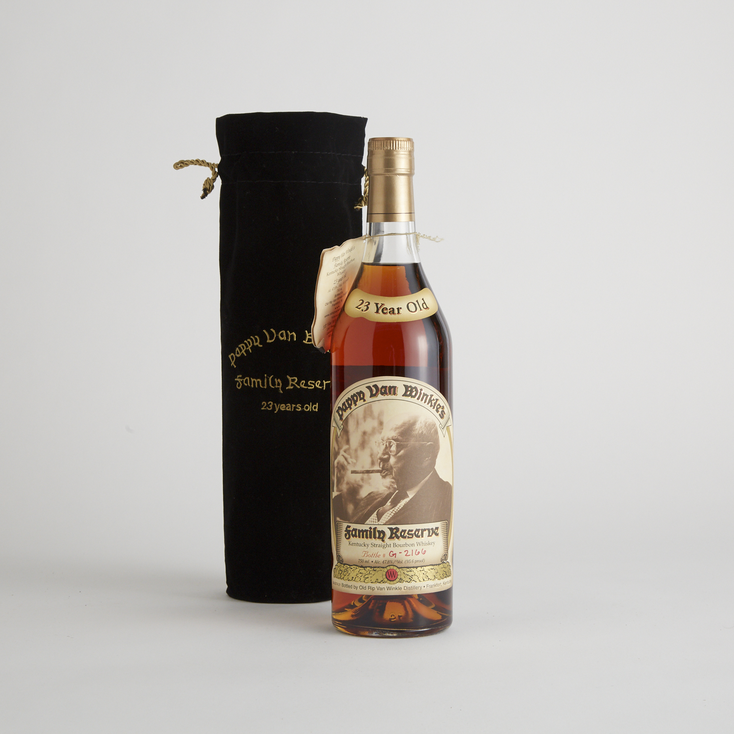 PAPPY VAN WINKLE FAMILY RESERVE KENTUCKY STRAIGHT BOURBON WHISKEY 23 YEARS (ONE 750 ML)