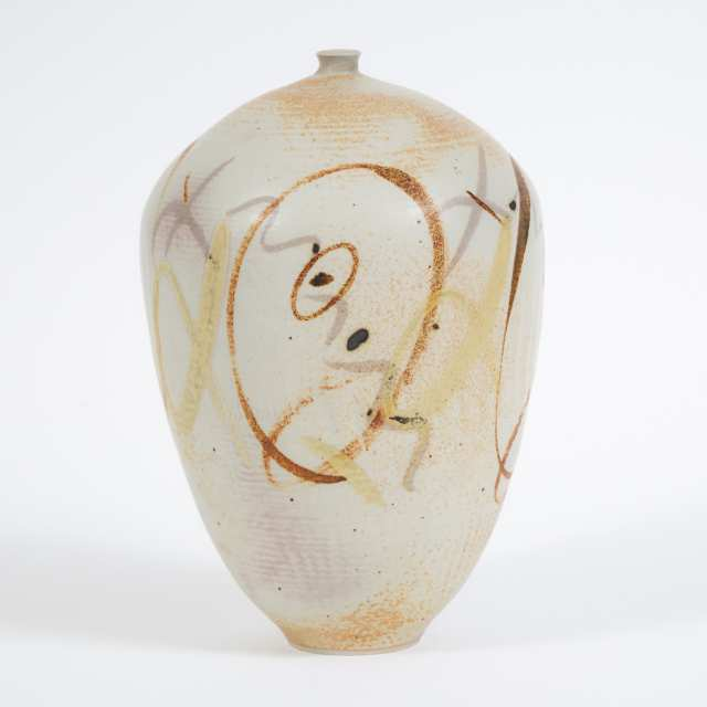 Kayo O'Young (Canadian, b.1950), Ovoid Vase, 1990
