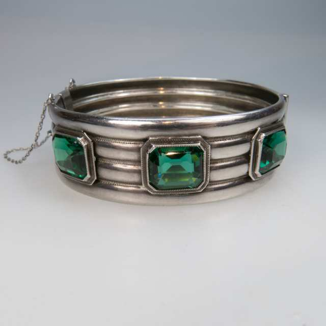 Eaton's Sterling Silver Hinged Bangle
