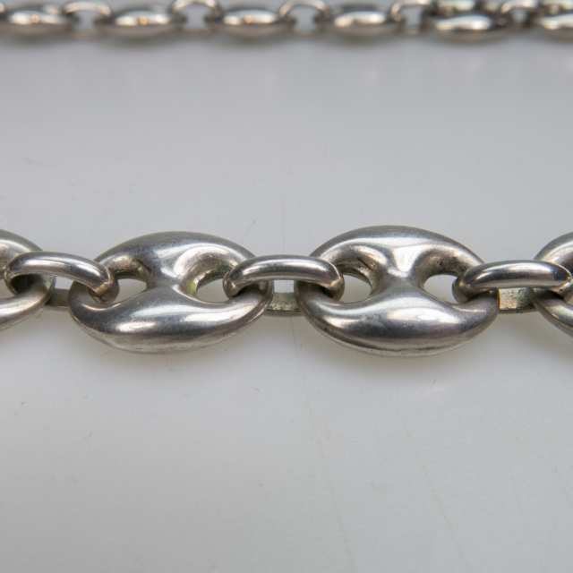 Silver Naval Link Chain
